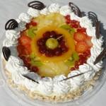 Kohupiima-puuvilja tort