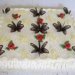 Kohupiima-vahukoore tort