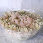 Kreveti-hiinakapsa salat